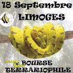 Bourse aux reptiles à Limoges (87), le dimanche 18 septembre 2016