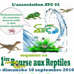 1ere Bourse aux reptiles à Grugies (02), le dimanche 18 septembre 2016