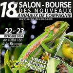 18 ème Salon-Bourse des Nouveaux Animaux de Compagnie à la Broque (67), du samedi 18 au dimanche 19 octobre 2016