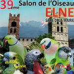 39 ème Salon de l'Oiseau à Elne (66), du 08 au 16 octobre 2016