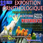 23 ème Expo/Bourse Perroquets à Weitbruch (67), du samedi 29 au dimanche 30 octobre 2014