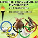 Exposition d'aviculture à Mommenheim (67), du samedi 05 au dimanche 06 novembre 2016