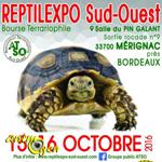 Reptilexpo à Mérignac (33), du samedi 15 au dimanche 16 octobre 2016