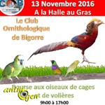 Bourse aux oiseaux de cage et de volière à Seissan (32), le dimanche 13 novembre 2016