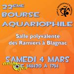 22 ème Bourse aquariophile à Blagnac (31), le dimanche 04 mars 2017