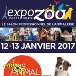 Expozoo 2017 à Paris (75), du jeudi 12 au dimanche 15 janvier 2017