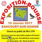 Exposition-Bourse aux oiseaux à Eaucourt sur Somme (80), le dimanche 15 janvier 2017