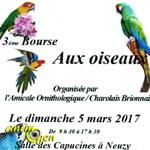 3 ème Foire aux oiseaux à Digoin (71), le dimanche 05 mars 2017