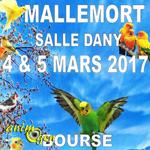 9 ème Exposition d'oiseaux d'élevage à Mallemort de Provence (13), du samedi 04 au dimanche 05 mars 2017