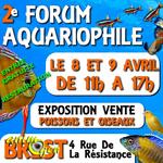 2 ème Forum aquariophile à Brest (29), du samedi 08 au dimanche 09 avril 2017
