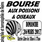 69 ème Bourse aux poissons, plantes et oiseaux à Reims (51), le dimanche 26 mars 2017