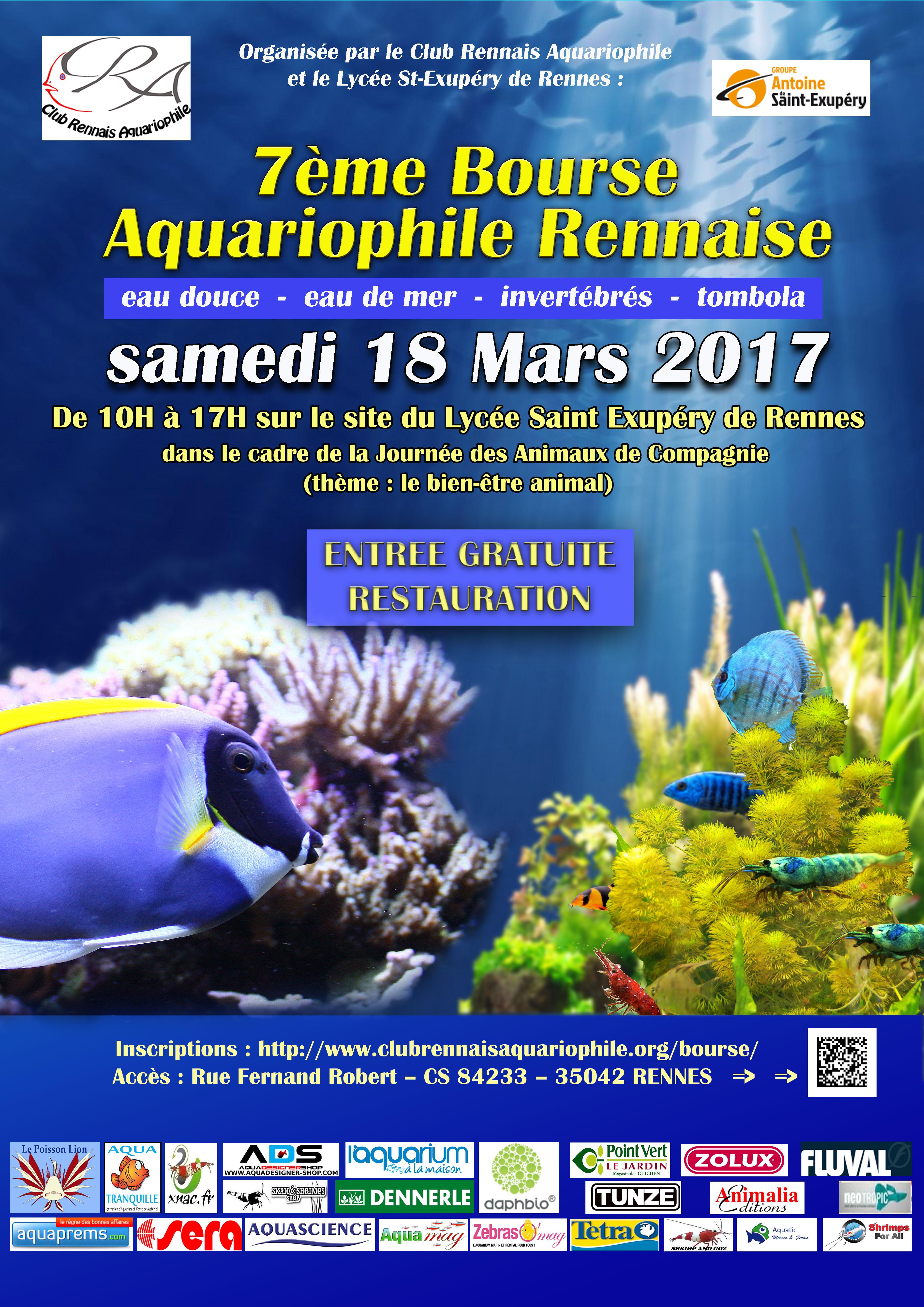 7 me bourse aquariophile rennaise rennes 35 le samedi 18 mars 2017 animogen. Black Bedroom Furniture Sets. Home Design Ideas