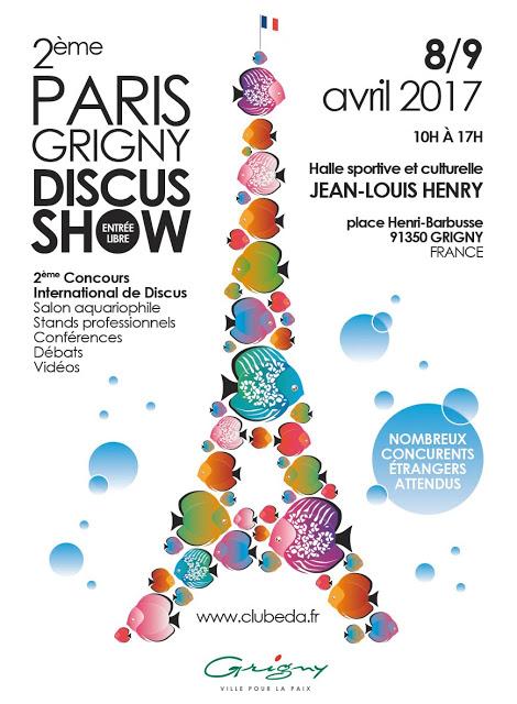 Paris Grigny Discus Show à Grigny (91), du samedi 08 au dimanche 09 avril 2017