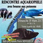 Rencontre aquariophile et Bourse aux poissons à Brignais (69), le dimanche 19 mars 2017
