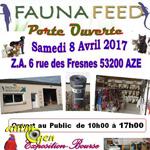 3 ème Bourse aux oiseaux et reptiles à Azé (53), le samedi 08 avril 2017
