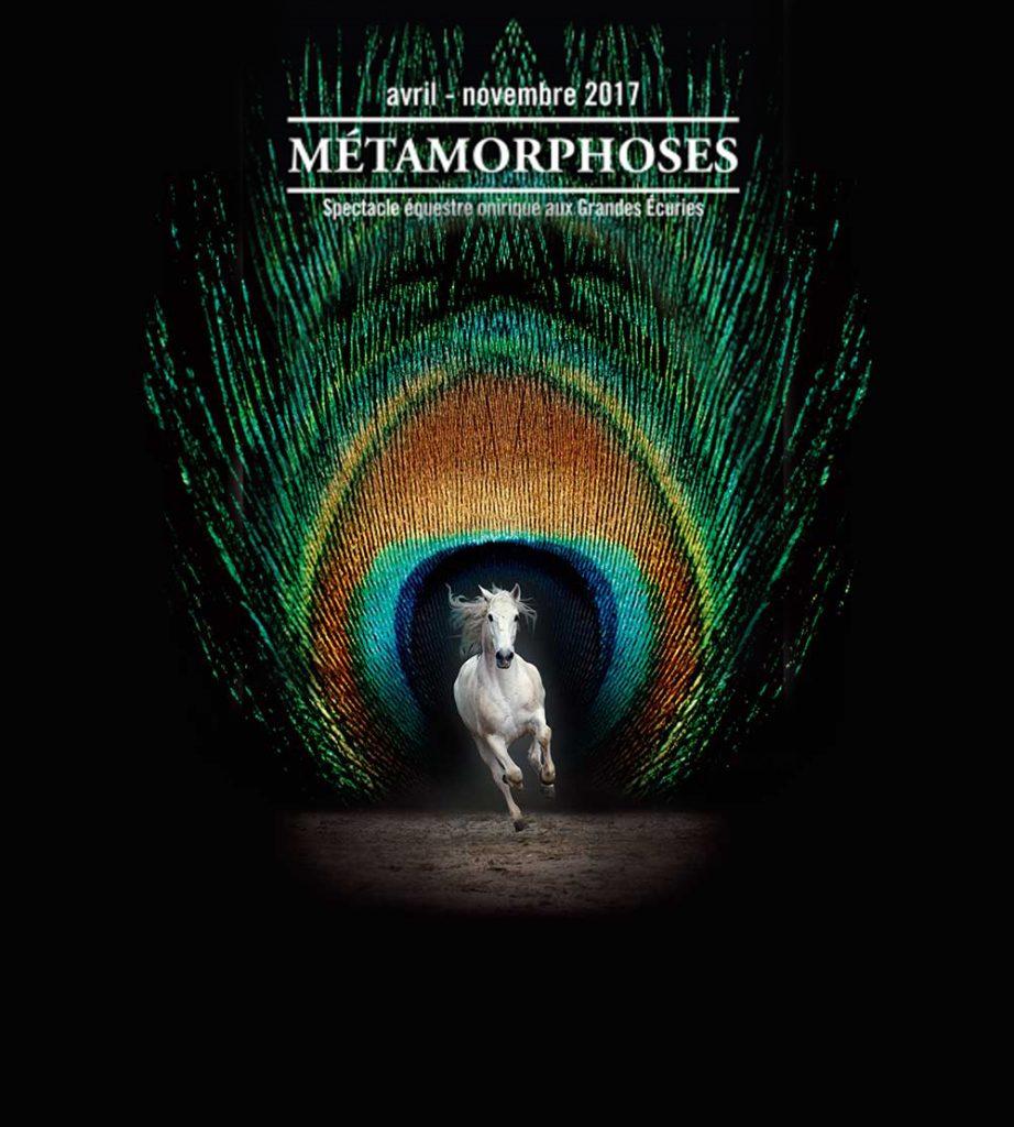 Métamorphoses, spectacle équestre à Chantilly (60), du dimanche 02 avril au dimanche 05 novembre 2017