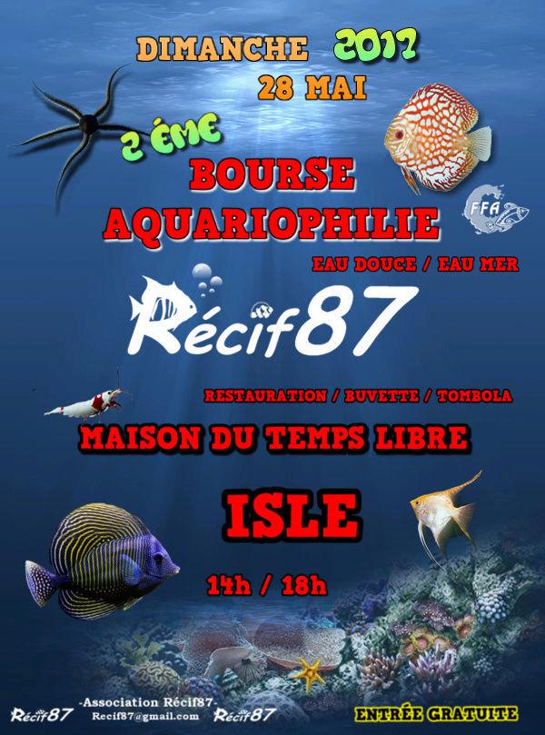 2 ème Bourse aquariophile à Isle (87), le dimanche 28 mai 2017