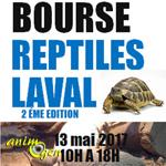 2 ème Bourse aux Reptiles à Laval (53), le samedi 13 mai 2017