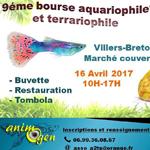 9 ème Bourse aquariophile et terrariophile à Villers Bretonneux (80), le dimanche 16 avril 2017