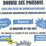 3 ème Bourse aux poissons à Serémange Erzange (57), le dimanche 07 mai 2017