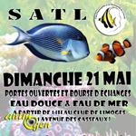Bourse aquariophile d'échanges eau douce et eau de mer à Limoges (87), le dimanche 21 mai 2017