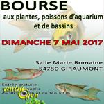 Bourse aux plantes, poissons d'aquarium et de bassin à Giraumont (54), le dimanche 07 mai 2017