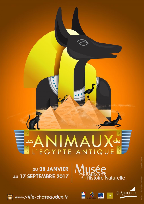 """Exposition """"Les Animaux de l'Egypte Antique"""" à Châteaudun (28), jusqu'au 17 septembre 2017"""