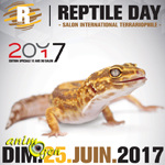 Reptile day (Salon international terrariophile) à Arras (62), le dimanche 25 juin 2017