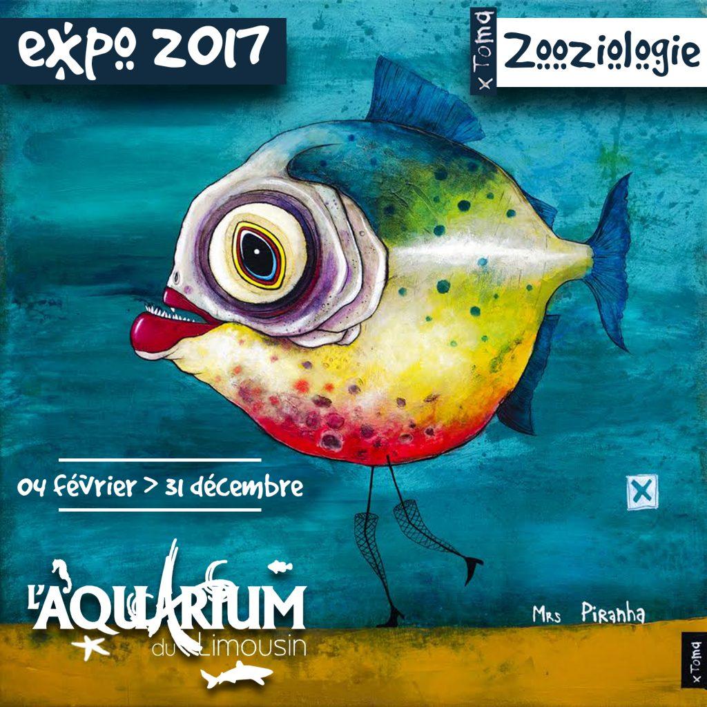 """Exposition """"Zooziologie"""" à Limoges (), du 04 février au 31 décembre 2017"""