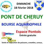 Bourse aux poissons à Pont de Cheruy (38), le dimanche 18 février 2018